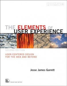 ux book - the elements of user experience image