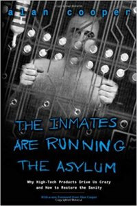 ux book - the inmates are running the asylum image