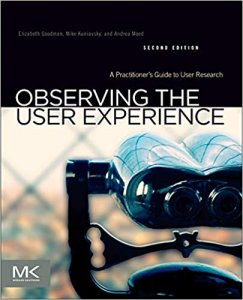 ux book - observing the user experience image