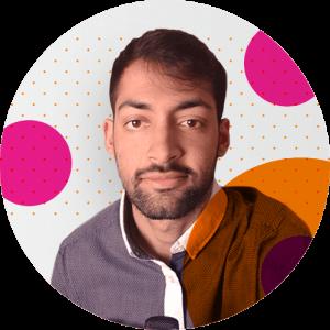 Azeem's round image - ux career advice